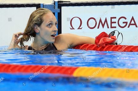 Stock Image of Fran Halsall of Great Britain competes in the Women's 50m Freestyle Final on Day 8 of the Rio 2016 Olympic Games at the Olympic Aquatics Stadium on August 13, 2016 in Rio de Janerio, Brazil.  (Photo by Vaughn Ridley/SWpix.com)