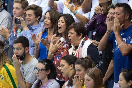 Editorial picture of Rio 2016 Olympic Games, Swimming, Olympic Aquatics Stadium, Brazil - 13 Aug 2016