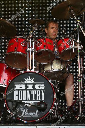 Stock Photo of Big Country - Mark Brzezicki