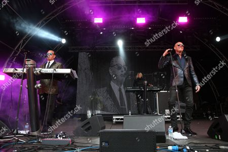Heaven 17 - Martyn Ware, Berenice Scott and Glenn Gregory
