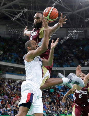 Editorial image of Rio 2016 Olympic Games, Basketball, Brazil - 12 Aug 2016