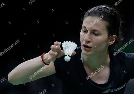 Linda Zetchiri Bulgaria's Linda Zetchiri serves to Switzerland's Sabrina Jaquet during a Women single match at the 2016 Summer Olympics in Rio deJaneiro, Brazil
