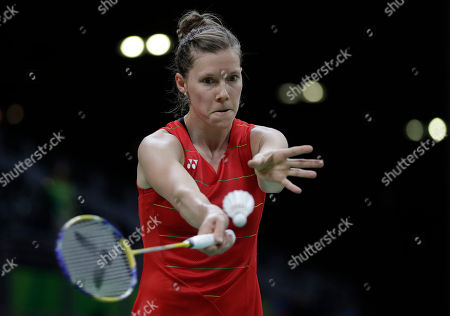 Sabrina Jaquet Switzerland's Sabrina Jaquet serves to Bulgaria's Linda Zetchiri during a Women single match at the 2016 Summer Olympics in Rio deJaneiro, Brazil