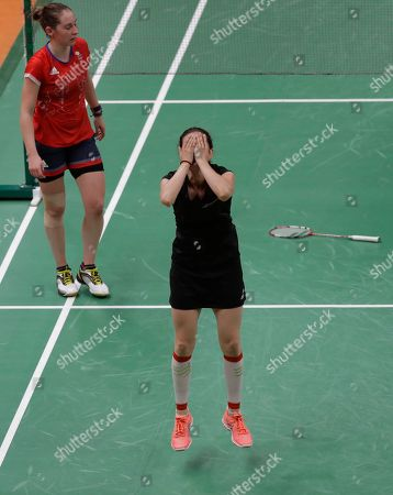 Editorial photo of Rio 2016 Olympic Games, Badminton, Riocentro, Brazil - 14 Aug 2016