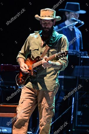 Editorial picture of Ray Lamontagne in concert with My Morning Jacket at the Fillmore, Miami Beach, Florida, USA - 13 Aug 2016