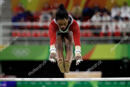 Editorial image of Rio 2016 Olympic Games, Gymnastics, Rio Olympic Arena, Brazil - 14 Aug 2016