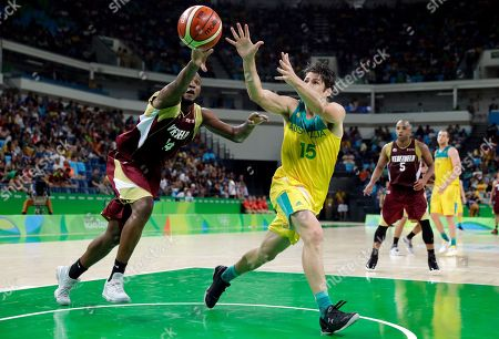 Editorial picture of Rio 2016 Olympic Games, Basketball, Carioca Arena 1, Brazil - 13 Aug 2016
