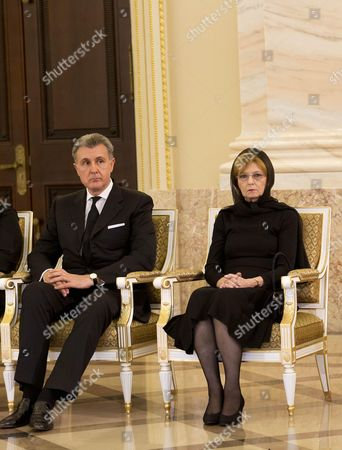 Prince Radu of Romania and Crown Princess Margareta of Romania