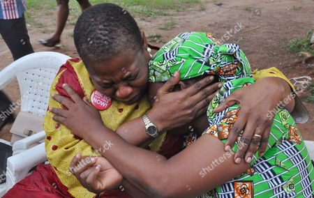 Editorial picture of Kidnapped schoolgirls, Abuja, Nigeria - 14 Aug 2016