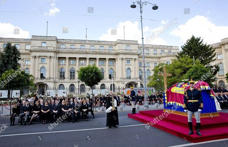 Editorial photo of Queen Anne funeral, Bucharest, Romania - 13 Aug 2016