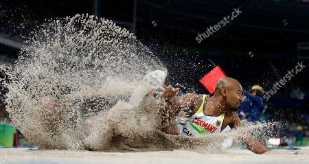 Editorial image of Rio 2016 Olympic Games, Athletics, Olympic Stadium, Brazil - 12 Aug 2016