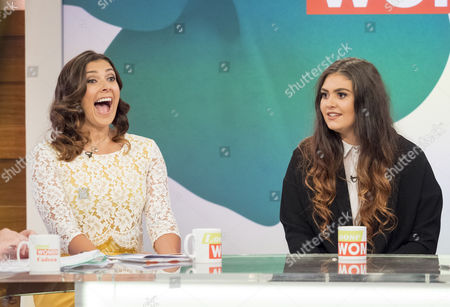 Kym Marsh and Emily Mae Cunliffe