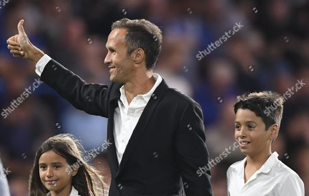 Former Chelsea player Ricardo Carvalho during the Premier League match between Chelsea and West Ham United played at Stamford Bridge, London on 15th August 2016