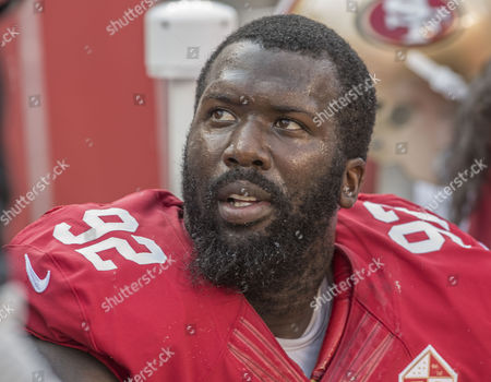 San Francisco 49ers defensive end Quinton Dial (92) on Sunday, , 2016, at Levis Stadium in Santa Clara, California. The Texans defeated the 49ers 24-13 in a preseason game