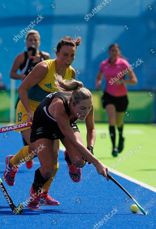 Editorial picture of Rio 2016 Olympic Games, Hockey, Olympic Hockey Centre, Brazil - 15 Aug 2016