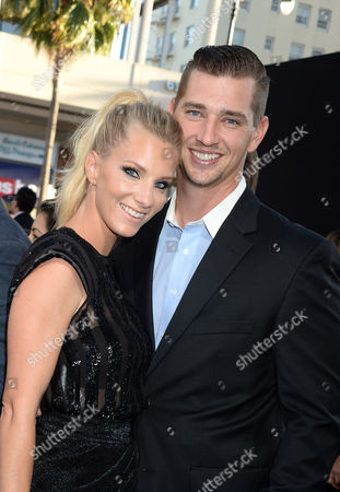 Heather Morris and husband Taylor Hubbell