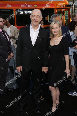 JK Simmons and Michelle Schumacher