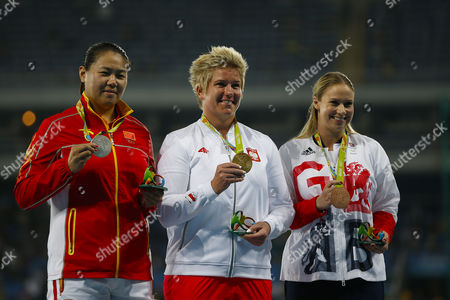 Editorial picture of Rio 2016 Olympic Games,  Women's Hammer throwfinals, Olympic Velodrome, Brazil - 15 Aug 2016