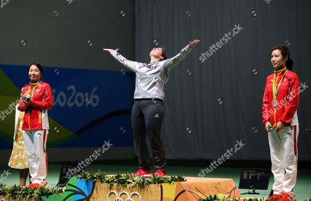 Editorial image of Rio 2016 Olympic Games, Shooting, Olympic Shooting Centre, Brazil - 11 Aug 2016