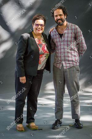 Jackie Kay and Zaffar Kunial