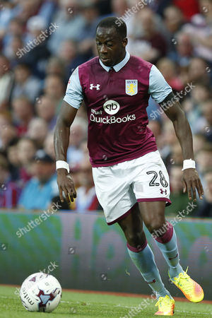 Aly Cissokho during the Sky Bet Championship match between Aston Villa and Huddersfield Town played at Villa Park, Birmingham on 16th August 2016