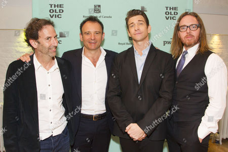Danny Rubin (Author), Matthew Warchus (Director), Andy Karl (Phil Connors) and Tim Minchin (Music/Lyrics)