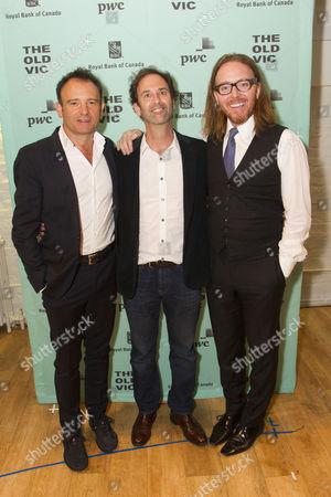 Matthew Warchus (Director), Danny Rubin (Author) and Tim Minchin (Music/Lyrics)