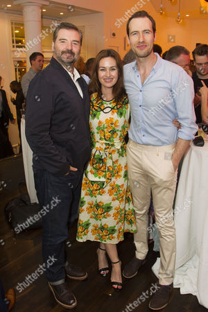 Brendan Coyle, Maimie McCoy and Eugene McCoy (Larry)