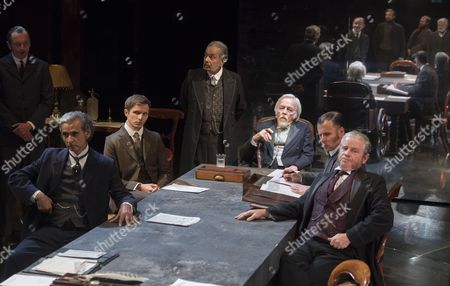 Editorial picture of 'Strife' Play by John Galsworthy performed at the Minerva Theatre, Chichester Festival Theatre, UK, 17 Aug 2016
