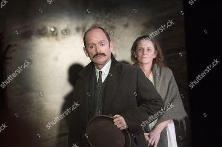 Stock Picture of Ian Hughes as David Roberts, Lucy Black Annie Roberts