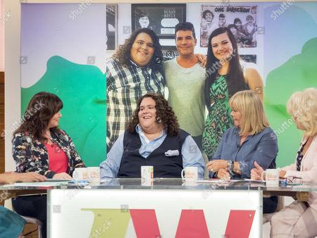 Coleen Nolan, Jonathan Antoine, Linda Robson and Sherrie Hewson