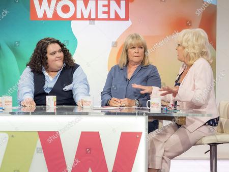Jonathan Antoine, Linda Robson and Sherrie Hewson