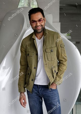 "Stock Image of Abhay Deol Bollywood actor Abhay Deol poses for photographs as he arrives to promote his upcoming movie ""Happy Bhag Jayegi"" in New Delhi, India"