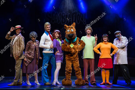 Editorial image of 'Scooby Doo Live! Musical Mysteries' photo call, London Palladium, UK - 17 Aug 2016