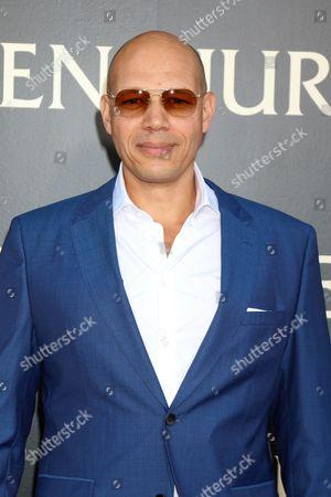 Editorial photo of 'Ben-Hur' film premiere, Los Angeles, USA - 16 Aug 2016