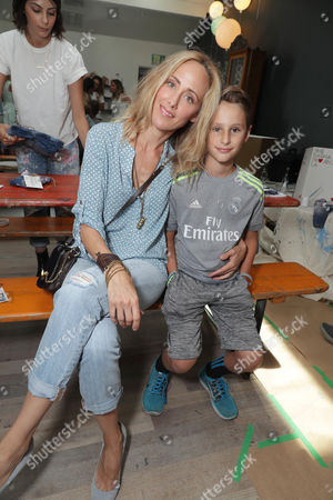 Editorial picture of Levi's Brand Back to School event hosted by Au Fudges's Jessica Biel and Estee Stanley at Au Fudge, Los Angeles, USA - 17 Aug 2016