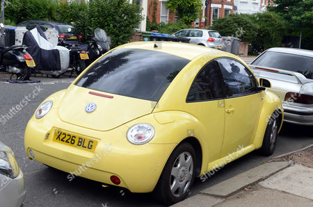 The Car Of Myra 'ling-ling' Forde In Kilburn Nw London Now 67 Who Operated A Brothel From Her Home In Salisbury Wiltshire. She Allegedly Threatened To Expose Sir Edward Heath As A Paedophile. She Was Found Guilty Of Brothel-keeping In 2009.