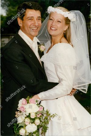 Stock Picture of Wedding Of Actors Tony Anholt And Tracey Childs. Box 688 126051612 A.jpg.