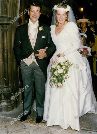 Stock Picture of Wedding Of Actors Tony Anholt And Tracey Childs. Box 688 126051622 A.jpg.