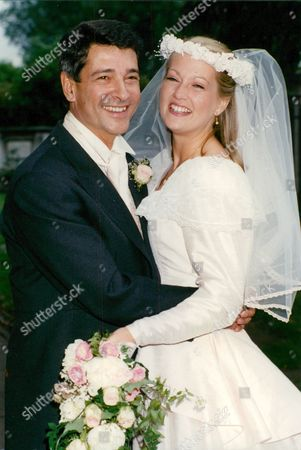 Editorial picture of Wedding Of Actors Tony Anholt And Tracey Childs. Box 688 12605169 A.jpg.