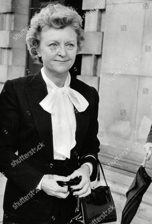 Actress Avril Angers At Memorial Service To Dame Agatha Christie. Box 688 826051628 A.jpg.