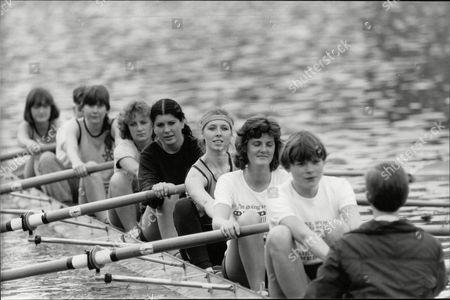 Oxford Undergraduate Karen Mason And The Oxford University Rowing Team. Box 691 508061617 A.jpg.