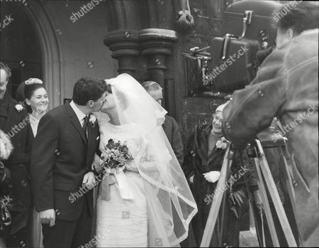 Actors Robert Arnold And Zeph Gladstone Filming A Marriage Scene For The Tv Programme: Dixon Of Dock Green. Box 692 609061622 A.jpg.