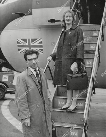 Russian Pianist Vladimir Ashkenazy And Wife Dody Arriving At London Airport (heathrow). Box 693 1029061633 A.jpg.