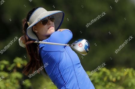 Maria Verchenova Maria Verchenova of Russia, hits her tee shot on the 11th hole during the first round of the women's golf event at the 2016 Summer Olympics in Rio de Janeiro, Brazil