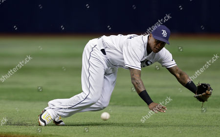 Tim Beckham Tampa Bay Rays second baseman Tim Beckham can't reach a single by San Diego Padres' Nick Noonan during the fifth inning of an interleague baseball game, in St. Petersburg, Fla