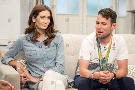 Mark Cavendish and wife Peta Cavendish