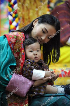 The Gyalsey, Prince Jigme Namgyel Wangchuck with her Majesty Queen Jetsun Pema visitng Bumthang
