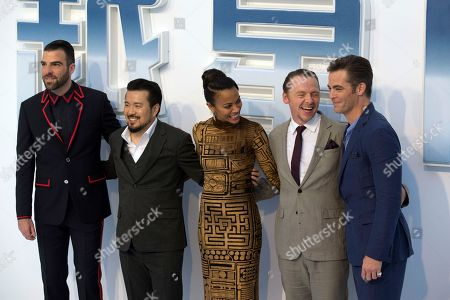Editorial picture of 'Star Trek Beyond' film premiere, Beijing, China - 18 Aug 2016