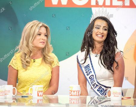 Editorial image of 'Loose Women' TV show, London, UK - 18 Aug 2016